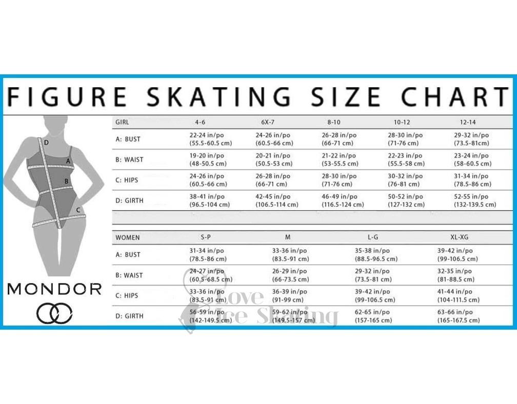 Mondor Body Liner L/Sleeve S'tan 11811 - Love Ice Skating