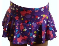 Chloe Noel  Ice Skating  Skirt Purple Bubble