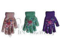 Heart Design Magic Stretch Gloves