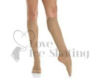 Mondor Knee High MI-BAS Figure Skating Socks Suntan 82