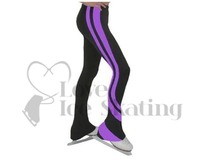 Chloe Noel Swirls Ice Skating Leggings P26 Purple