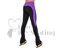 Chloe Noel Ice Skating Leggings PS08 Rider Style Purple