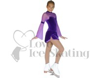 Chloe Noel Figure Skating Light Tan Tights Footed In Boot