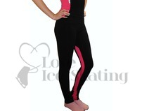 Mondor Figure Skating Leggings 4805 D9 Dragon Pink