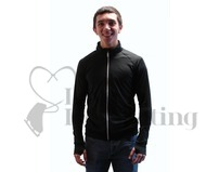 JIV Men's Figure Skating Training Jacket Black