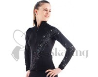 Sagester Ice Skating Jacket with Swarovski AB Crystals