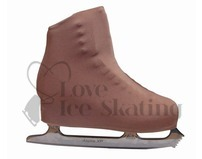 Nude Youth Figure Skating Boot Covers