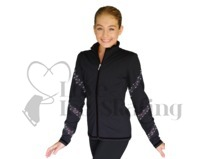 Chloe Noel AB Crystal Spiral Jacket & Leggings Set