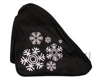 Snowflake Black Ice Skating Bag