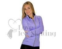 JIV Ice Skating Training Jacket in Lavender
