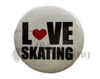Love Skating Badge