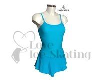 Sagester 160 Turquoise Blue Ice Skating Dress