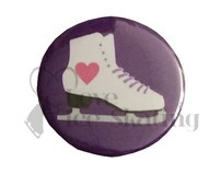 Heart Skate on Purple badge