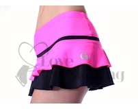 Thuono Hello Thermal Neon Pink Ice Skating Skirt