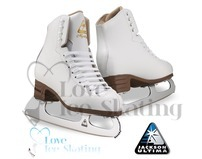 Jackson Mystique Ladies White Figure Skates