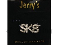 SK8 Crystal Ice Skating Brooch Pin by Jerry's 1298