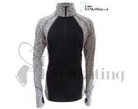 ES Melange Ultra lightweight long sleeve top Grey