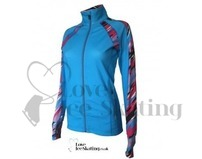 ES Performance Figures Ice Skating Jacket Blue