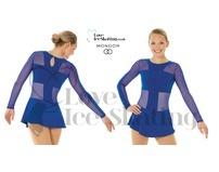 Mondor 12926 Blue Mesh Fantasy on Ice Dress