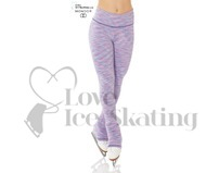 Mondor 4551 Blue Lilac Strata Ice Skating Leggings
