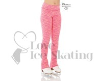 Mondor 4551 Pink Yellow Strata Ice Skating Leggings