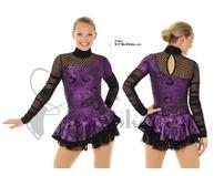 Mondor Purple & Black Fantasy on Ice Skating Dress