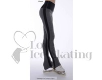 Thuono Linx B-Melange Grey Ice Skating Leggings