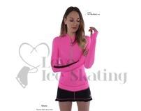 Thuono Ice Skating Dress Hello Pink