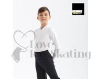 Intermezzo 31342 Black Male Skating Shirt