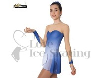Intermezzo Blue & Nude Chiffon Ice Skating Dress