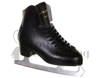 Graf 500 Figure Skates (Blades Fitted) Black - Senior