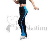 Jiv Boost Black & Turquoise Leggings