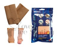"Ice Skating Ankle Gel Sleeve 5"" Twin Pack"