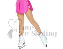Chloe Noel Figure Skating Mid Tan Tights In Boot