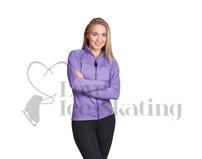 JIV Figure Skating Jacket In Lavender