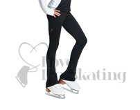 Jiv Dynamic Black & Clear Crystal Leggings
