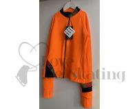 Thuono Rainbow Hello Orange Skating Jacket