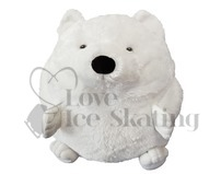 Ice Skating Plush Polar Bear Hand Warmer