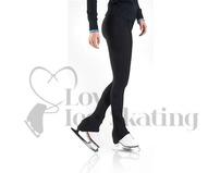 Black Over Boot Ice Skating Leggings