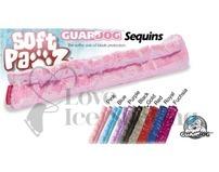 Guardog Soft Pawz Ice Skate Soft Sequin Soakers