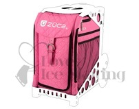 Zuca Hot Pink with Rhinestones Insert