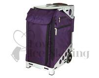 Zuca Pro Artist Royal Purple Insert & Silver Frame