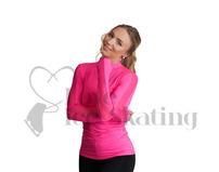 Jiv Sense Figure Skating Pink Top