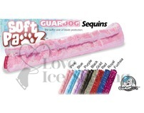 Guardog Soft Pawz Ice Skate Soft Sequin Soakers