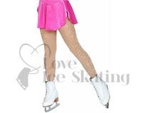 Chloe Noel Ice Skating Light Tan Tights w Crystals