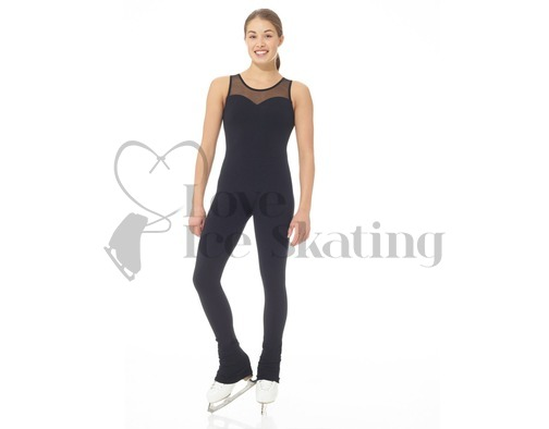 Mondor Supplex® Figure Skating Black Catsuit