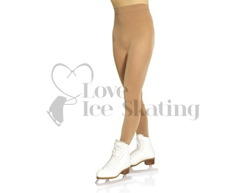Mondor 3360 Suntan Performance Ice Skating Tights Footed