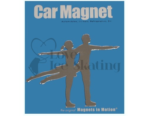 Pairs Figure Skating Magnet