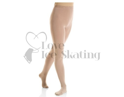 Mondor 3337 Evolution Footed Ice Skating Tights Suntan