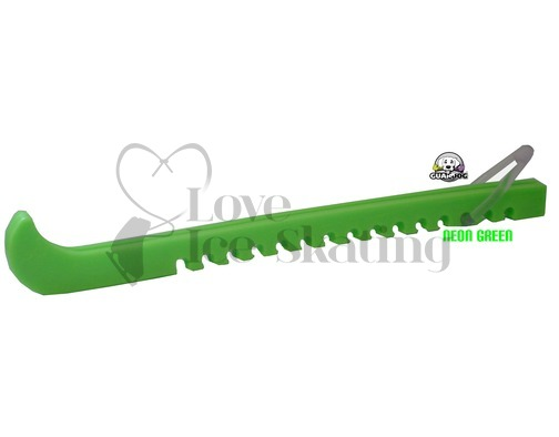 Guardog Figure Neon Green Ice Skate Blade Guards